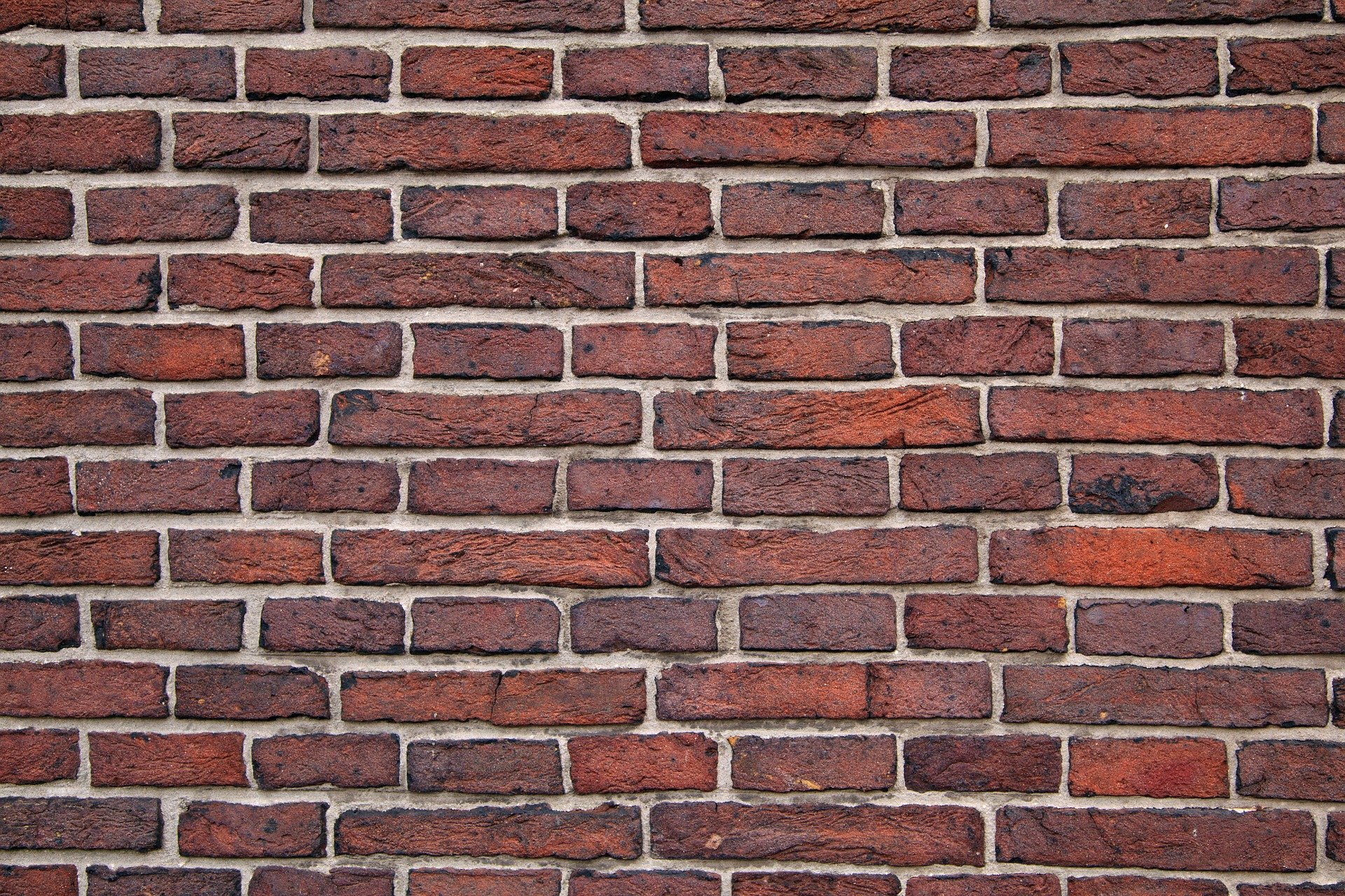 this Riddle App question is about walls and seeing through them; therefore, this image is of a brick wall!