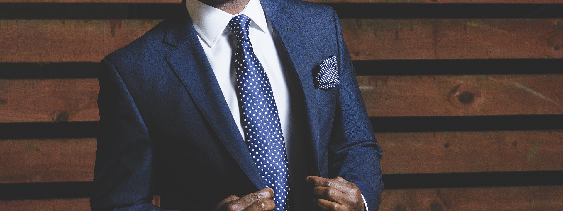 Riddles are fun. This one is about a suit. The picture is of a professional business suit.